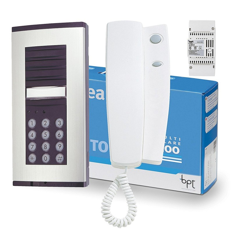 smart r distribution the access control distributor audio bpt vset1n hna multi wire system 200 audio entry system