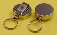 BR-CCK Badge Reel (YoYo) - Heavy Duty - Chrome - Key Ring