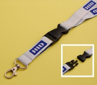 LYD-HID Lanyard - Plastic Clip Connector - Trigger Clip