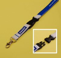 LYD-HIDID Identity Lanyard - Plastic Clip Connector - Trigger Clip