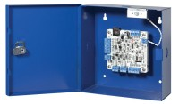 bright blue & lite blue network reader interface