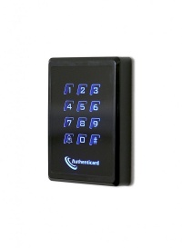 A-KEYPAD Wall Switch Reader Range with touch-sensitive keypad