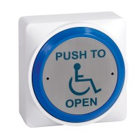 Large Round EXIT Push-Button