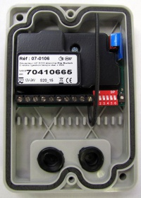 RF Receiver Eco with integrated aerial