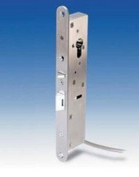 SR1-EML-300 Electromechanical lock with facility for manual key over-ride