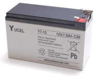 SR1-BAT-120720 Sealed Lead-Acid 12V 7.0 Ah Battery