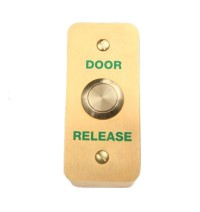 SR1-REX-B02/SB02 Series Brass Finish Architrave Push-Button