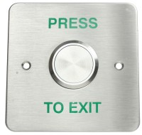 SR1-REX-ST06 Series Stainless Steel backplate with Larger Push-Button