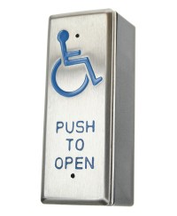 SR1-DA-AWP Push-Button with wheelchair symbol suitable for architrave fitting