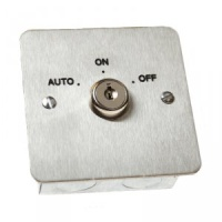 SR1-KSW-400 Stainless Steel 3 Position Key Switch