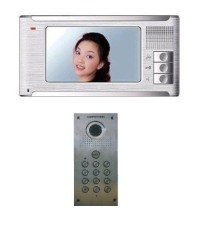SR1-VES-C550SK Colour Video Door Entry System - Stainless Steel - with Keypad