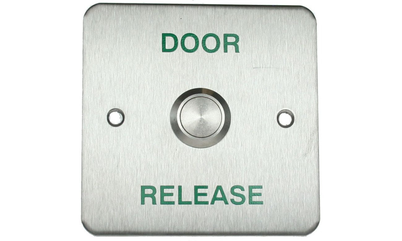 Where exit is not controlled a device called a request-to-exit device (RTE) is used which is wired to the corresponding input of a door controller.